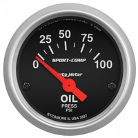 "Autometer 2-1/16"" Oil Pressure gauge"
