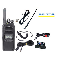 PELTOR & BELL Race car driver comms system