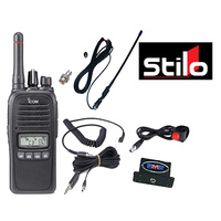 STILO WRC Race car driver communication system