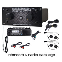 Enduro pro intercom & race radio package