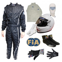FIA/SA2015 Race driver package TOP Forced air helmet