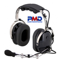 Nascar style communication headset noise cancelling