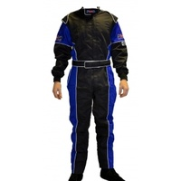 SFI3.2a/1 PMD Race suit [Size: xsmall] [Colour: Black/Blue]