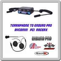 Terraphone intercom to Enduro pro, Avcom, PCI headset adapter