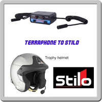 Terraphone intercom to Stilo Trophy helmet headset adapter