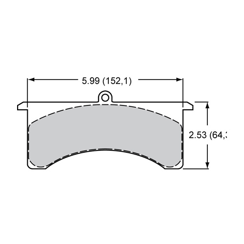 Wilwood 7516 brake pad